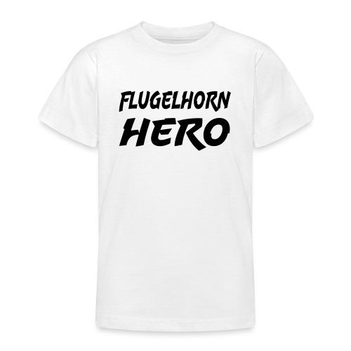 Flugelhorn Hero - Teenage T-Shirt