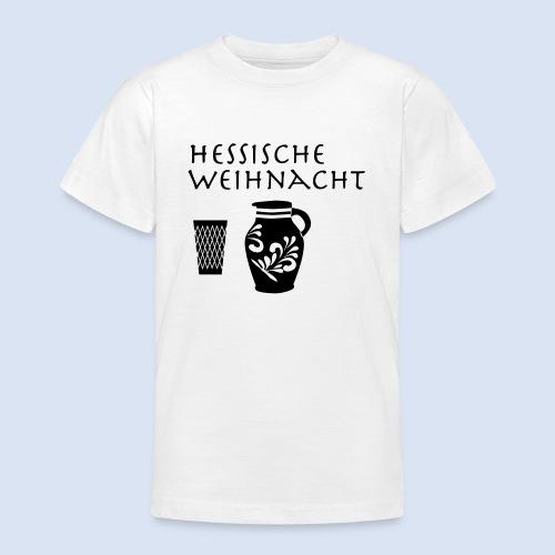 Hessische Weihnachten - Teenager T-Shirt
