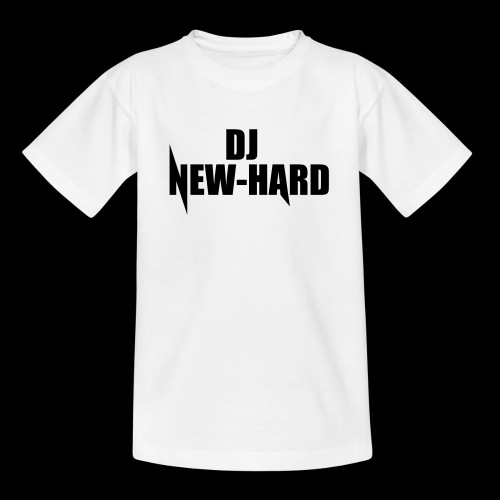 DJ NEW-HARD LOGO - Teenager T-shirt