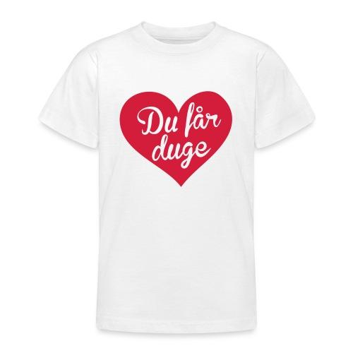 Ekte kjærlighet - Det norske plagg - T-skjorte for tenåringer