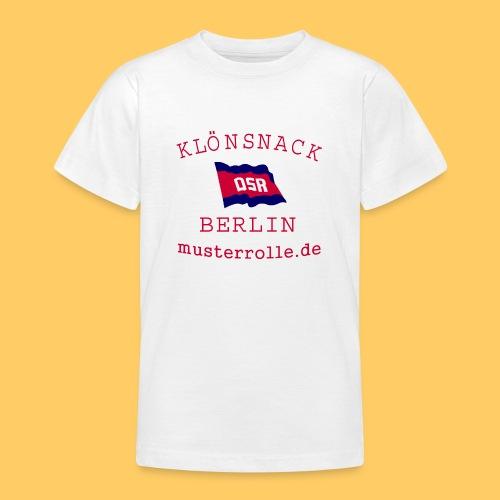 KiB-Logo-gif - Teenager T-Shirt