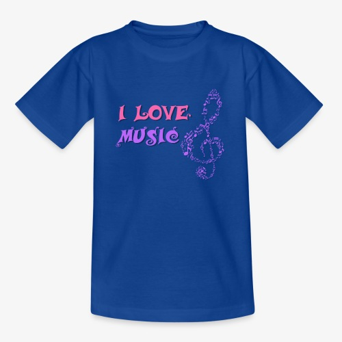 Love Music - Camiseta adolescente