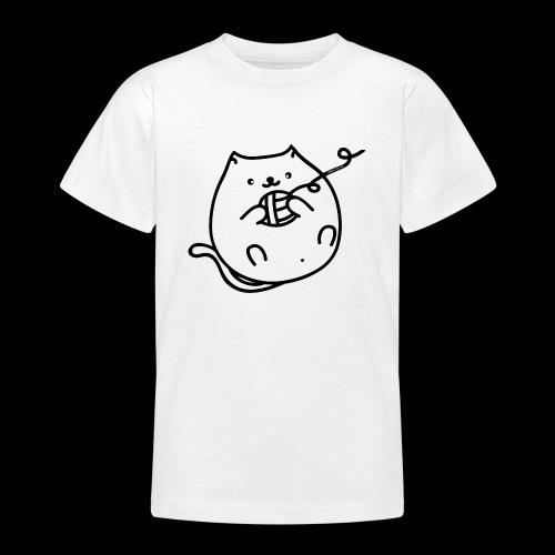 classic fat cat - Teenager T-Shirt