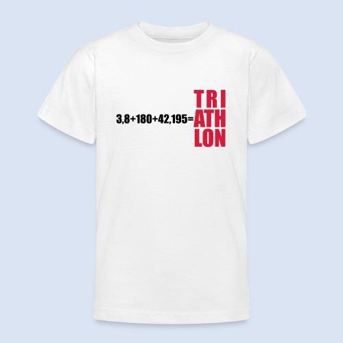 Triathlon Swim Bike Run - Teenager T-Shirt