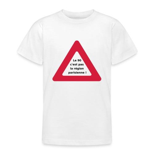 90_pas_region_parisienne - T-shirt Ado