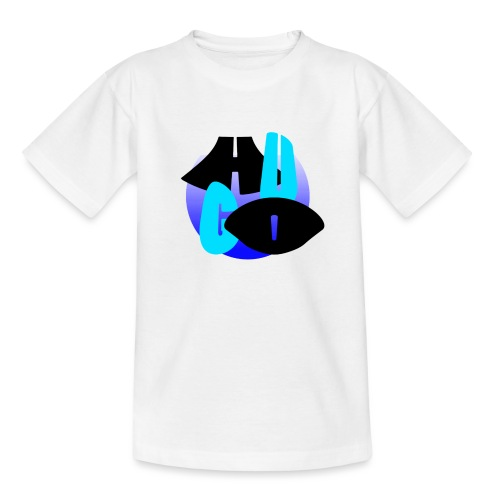 Hugo's logo transparant - Teenager T-shirt