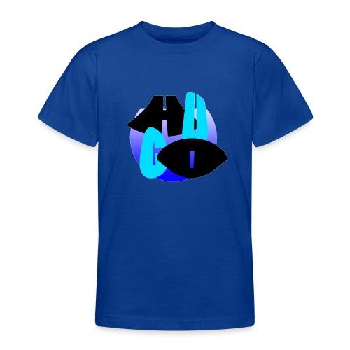 Hugo's logo transparant - Teenager T-shirt