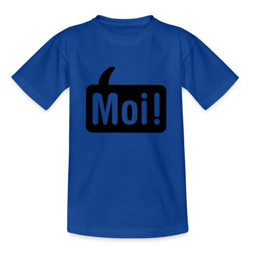 hoi shirt front - Teenager T-shirt