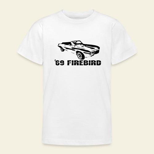 firebird small - Teenager-T-shirt