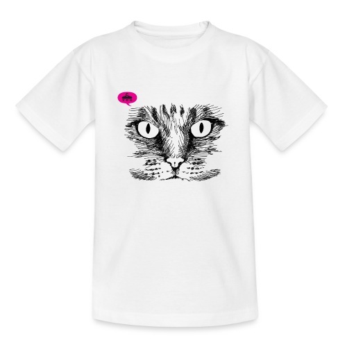 kattegezicht vdh - Teenager T-shirt