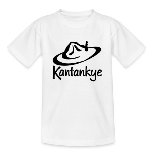 logo hoed naam - Teenager T-shirt