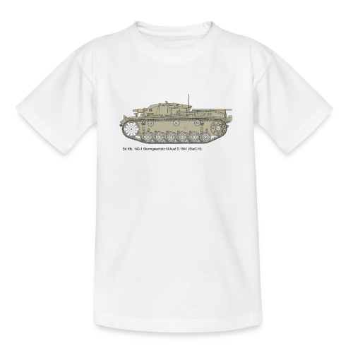 Stug III Ausf D. - Teenager T-Shirt