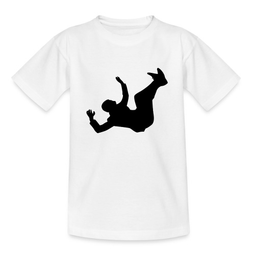 Fallender Mann - Teenager T-Shirt