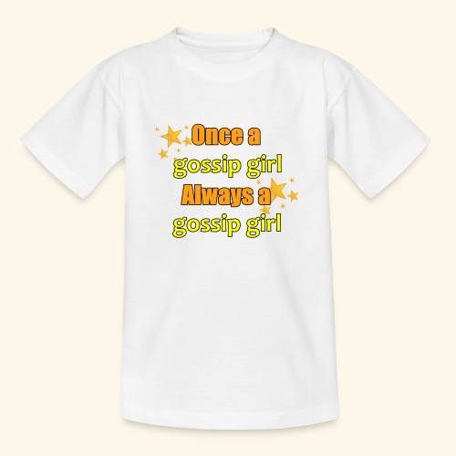 Gossip Girl Gossip Girl Shirts - Teenage T-Shirt