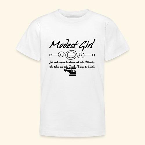 Modest Girl Shirts - Teenage T-Shirt