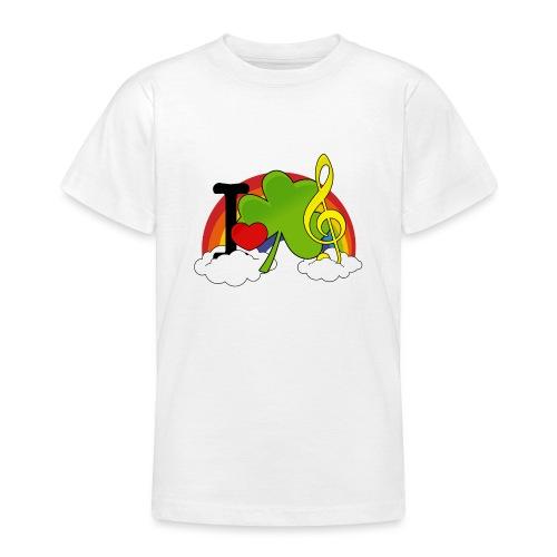 I love Irish Music - Teenager T-Shirt