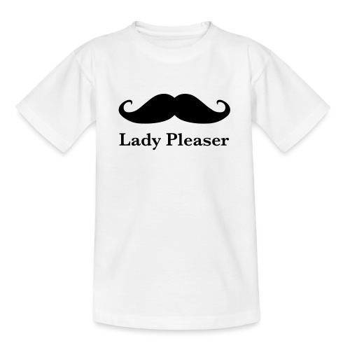 Lady Pleaser T-Shirt in Green - Teenage T-Shirt