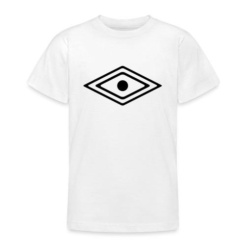 Auge des Medizin Mann, Indianisches Kraft Symbol - Teenager T-Shirt