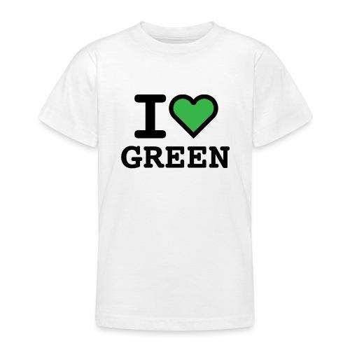 i-love-green-2.png - Maglietta per ragazzi