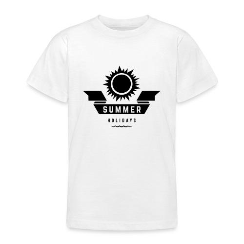 Summer holidays - Nuorten t-paita