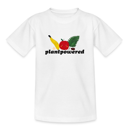 Plantpowered Fruit-Pals - Teenager T-Shirt