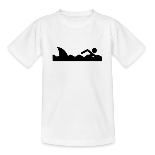 Haifischfutter - Teenager T-Shirt