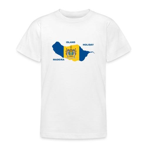 Madeira Insel Urlaub Portugal - Teenager T-Shirt