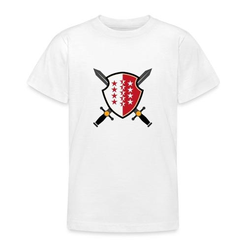Valais avec épées - Teenager T-Shirt