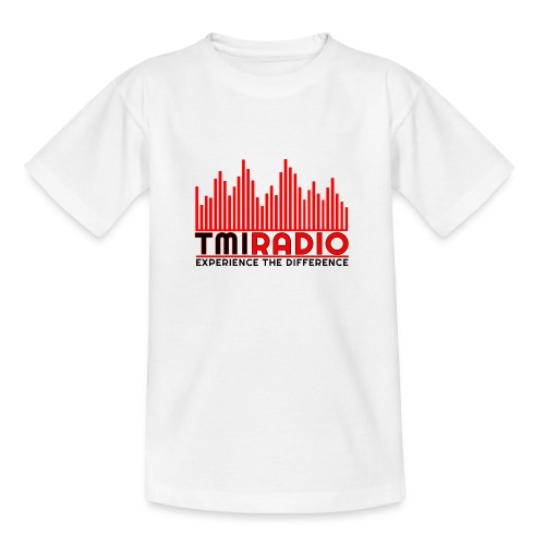 NEW TMI LOGO RED AND BLACK 2000 - Teenage T-Shirt