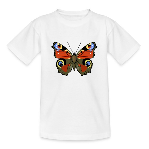 vlinder1_d - Teenager T-shirt