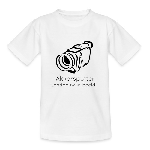 Logo akkerspotter - Teenager T-shirt