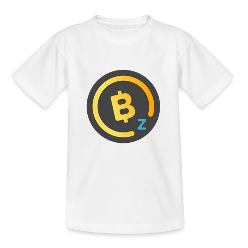 Dark BitcoinZ Logo - Teenage T-Shirt