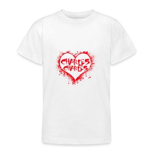 CHARLES CHARLES VALENTINES PRINT - LIMITED EDITION - Teenage T-Shirt
