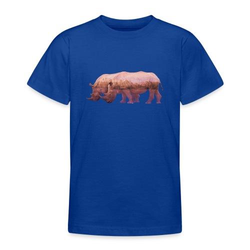 Nashorn Alpen - Teenager T-Shirt