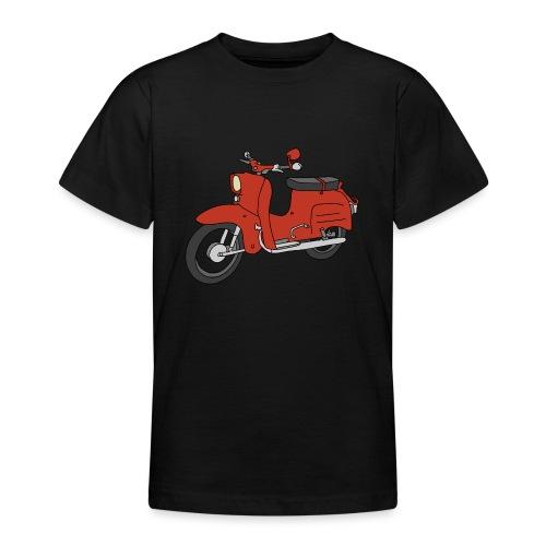 Schwalbe (ibizarot) - Teenager T-Shirt