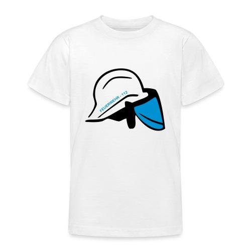 Feuerwehr Helm - Teenager T-Shirt