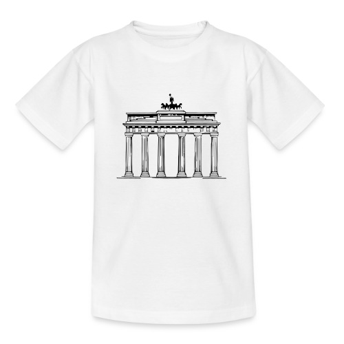 Brandenburger Tor Berlin Victoria Streitwagen - Teenager T-Shirt
