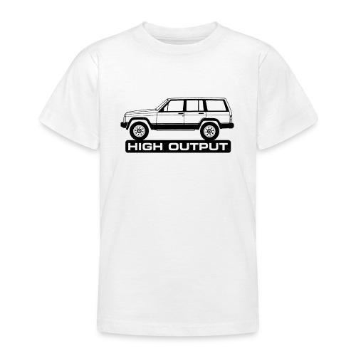 Jeep XJ High Output - Autonaut.com - Teenage T-Shirt