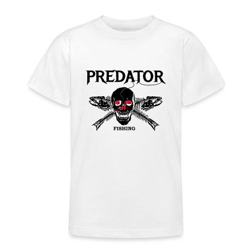 predator fishing dänemark - Teenager T-Shirt