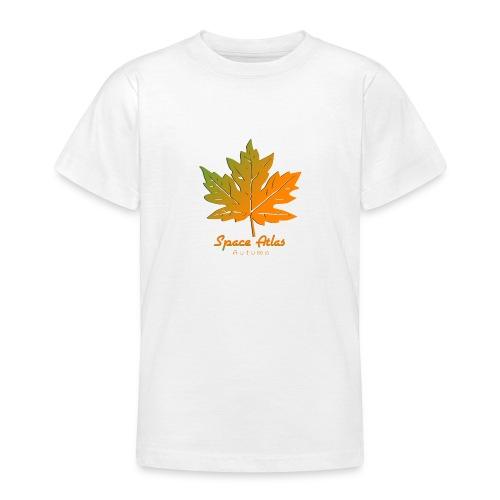 Space Atlas Long Sleeve T-shirt Autumn Leaves - Teenager-T-shirt