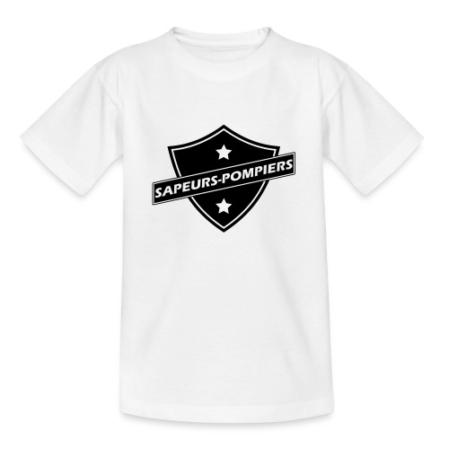 blason sapeurs-pompiers - T-shirt Ado