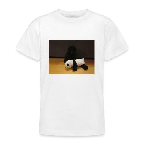 Maggie och pandan - T-shirt tonåring