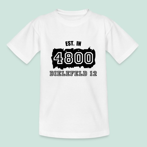 Established 4800 Bielefeld 12 - Teenager T-Shirt