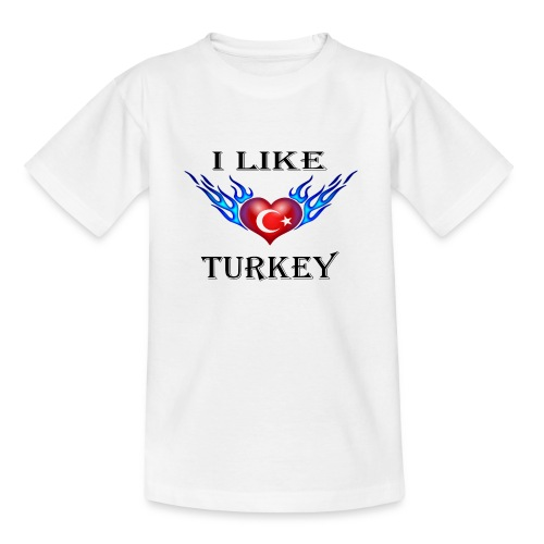I Like Turkey - Teenager T-Shirt