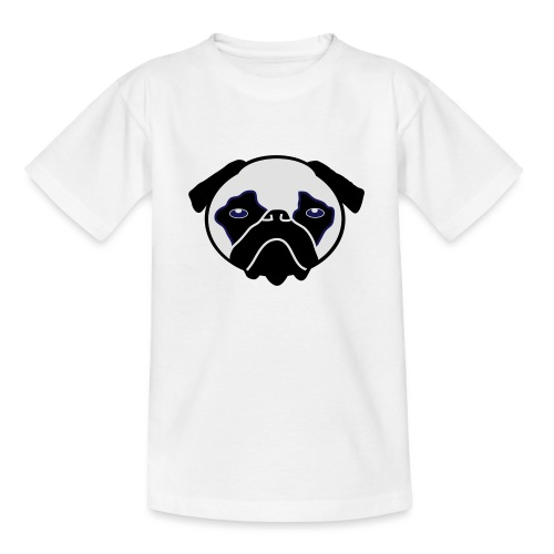 Mops, Hund - Teenager T-Shirt