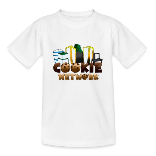 Cookienetwork logo - Teenager T-shirt