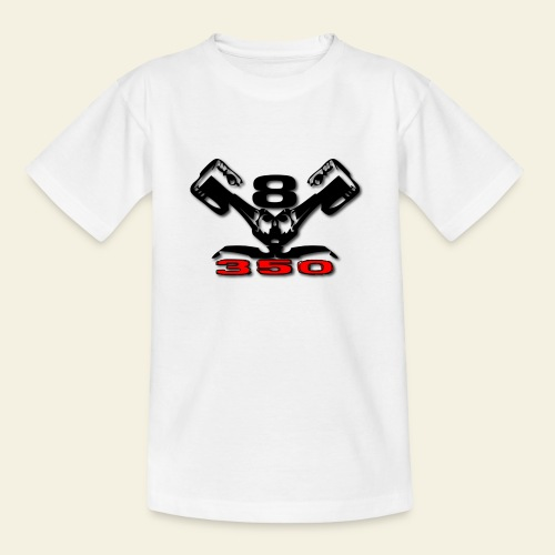 350 v8 - Teenager-T-shirt