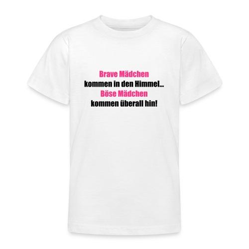 Brave Mädchen - Teenager T-Shirt