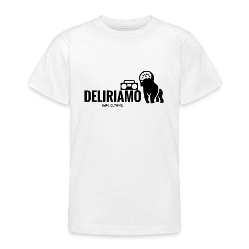 DELIRIAMO CLOTHING (GdM01) - Maglietta per ragazzi