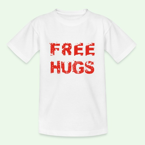 Free Hugs // Flirten // T-Shirt - Teenager T-Shirt